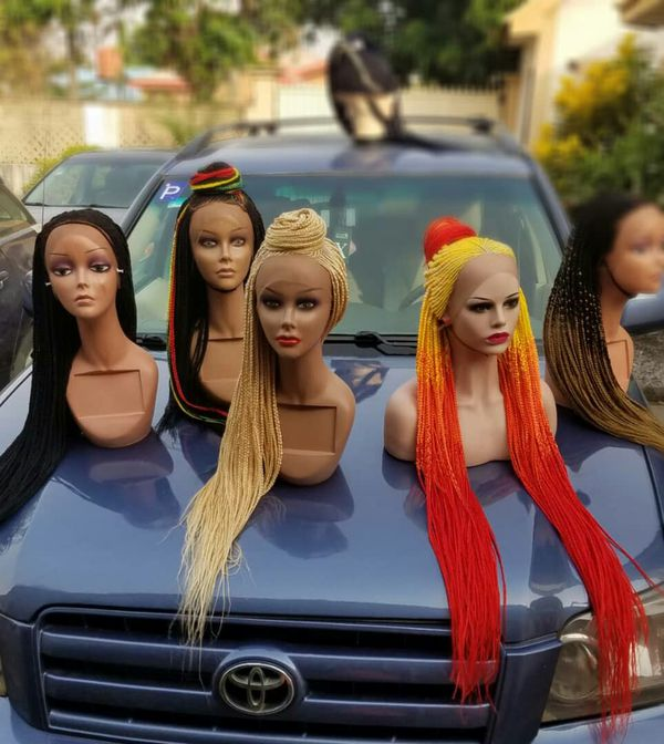 Brand new braided wigs