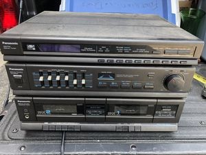 Vintage Panasonic Stereo Music System SA-H30, Am/Fm Dual CD/ Cassette player for Sale in Allison Park, PA
