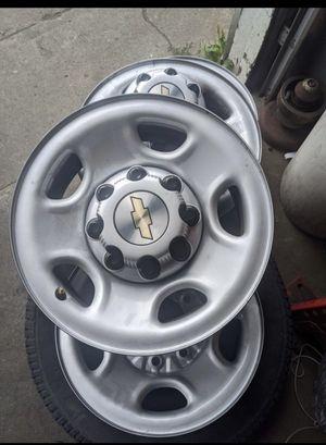 16' Chevy 8x6.5 OEM Steel Wheels for Sale in Everett, WA