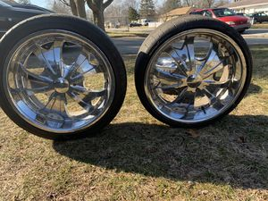 22 inch Rims the whole Set of 4 for Sale in Elkhart, IN