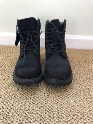 Black Timberland Boots Women's Size 7 for Sale in Sterling, VA