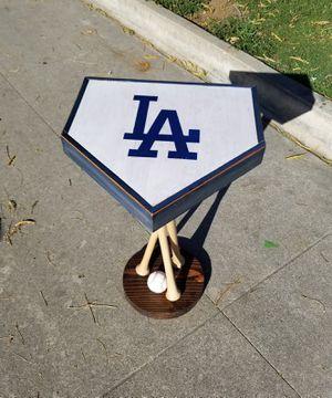 LA Dodgers Wooden Table for Sale in Whittier, CA