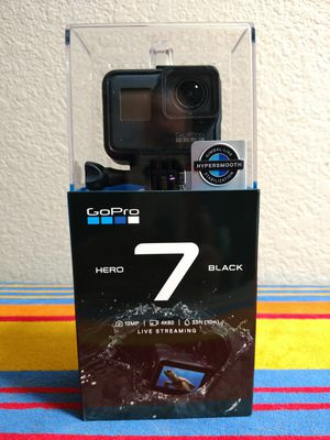 GoPro 7 Black Unopened Brand new for Sale in San Jose, CA