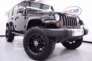 2012 Jeep Wrangler Unlimited Sahara for Sale in Houston, TX