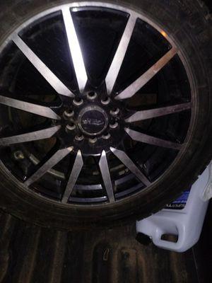 "17"" Rims w tires for Sale in Abilene, TX"