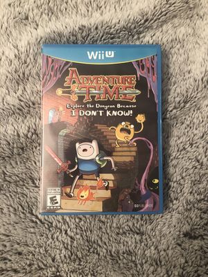 Adventure Time: Explore the Dungeon Because I DON'T KNOW (Nintendo WiiU) for Sale in New York, NY
