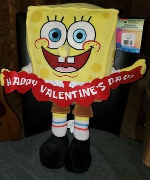 Valentine's Plush Spongebob for Sale in Waterboro, ME