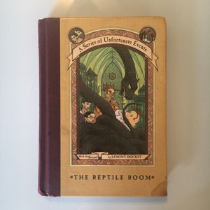 Lemony Snicket's (A Series Of Unfortunate Events) #2 : The Reptile Room for Sale in Fort Pierce, FL