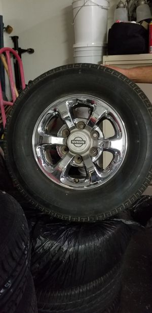 Nissan tires, p225/70R14 for Sale in Las Vegas, NV