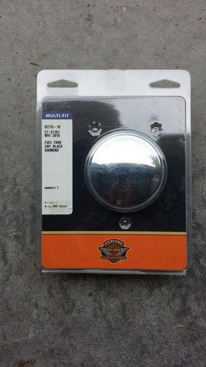 Harley Davidson Silver Fuel Tank Cap Black Diamond for Sale in Orlando, FL