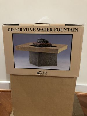 Decorative water fountain for Sale in Haymarket, VA