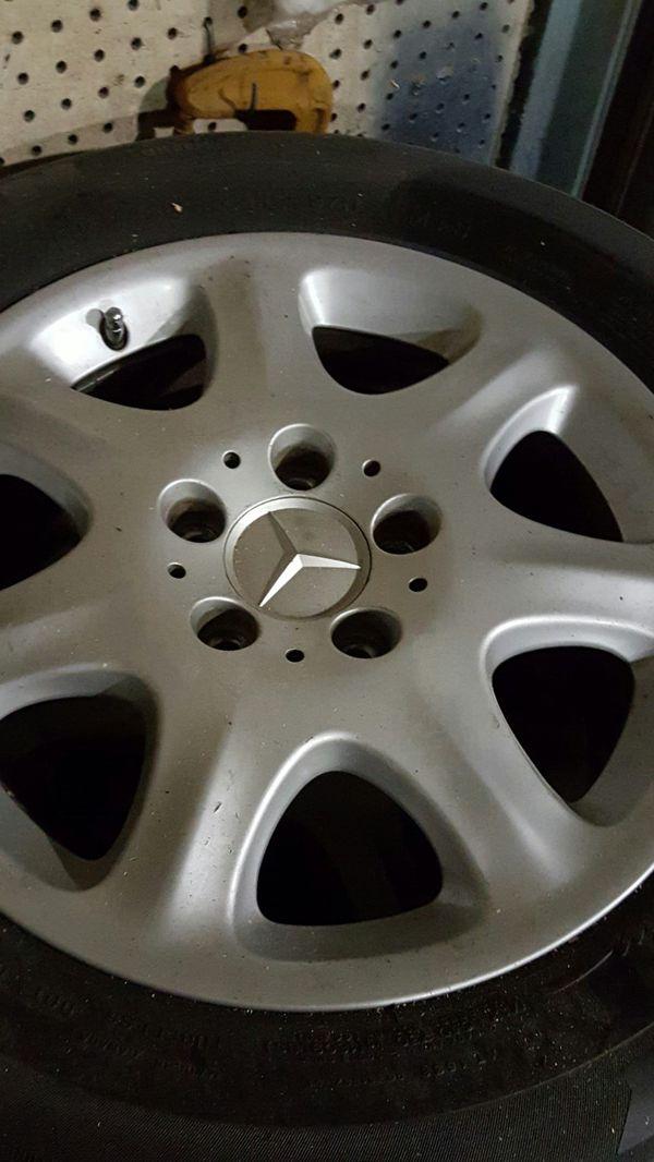 225 60 16 Benz wheels