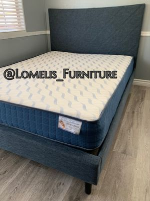 QUEEN BEDS W ORTHOPEDIC MATTRESS INCLUDED for Sale in CRYSTAL CITY, CA