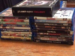 Blue ray movies for Sale in Bainbridge, NY