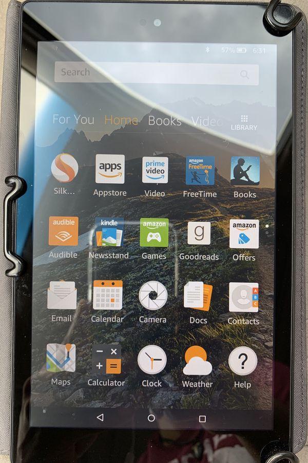 Fire HD 8 Amazon Tablet
