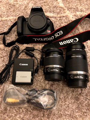Canon EOS Rebel XSi / 450D for Sale in Lynnwood, WA