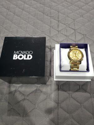 Movado Bold Gold for Sale in Manassas Park, VA