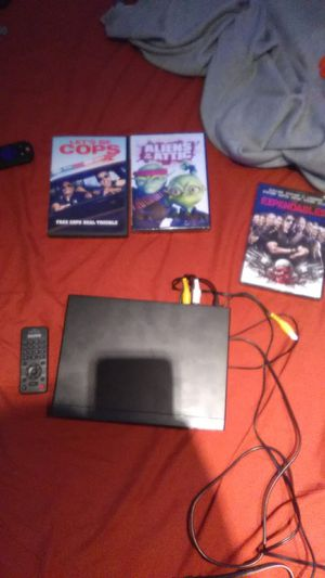 Brand new DVD player with 3 brand new movies for Sale in Atlanta, GA