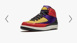 Air Jordan **2 **Retro University Red/Court Purple MultiColor Size: Men's 8 // Women's 9.5 Simply Unique New Stock ***Firm Price*** for Sale in South El Monte, CA