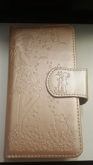 """wallet case for iphone xs max 6.5"""" goldrose new 12firm now ship out of the town for Sale in Phoenix, AZ"""