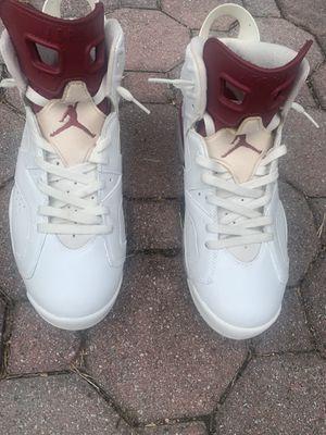"Jordan 6 ""Maroon"" Size 10.5 for Sale in Howell Township, NJ"