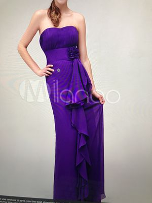Strapless Purple Dress for Sale in Silver Spring, MD