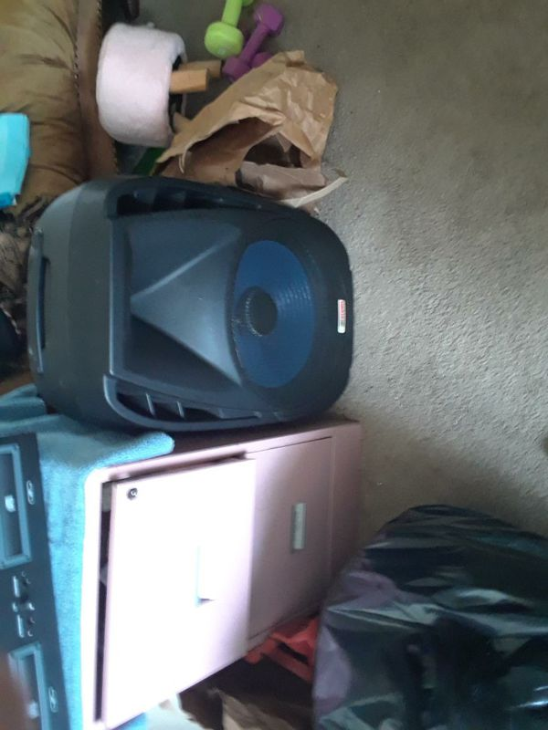Pro audio cd dj and speakers