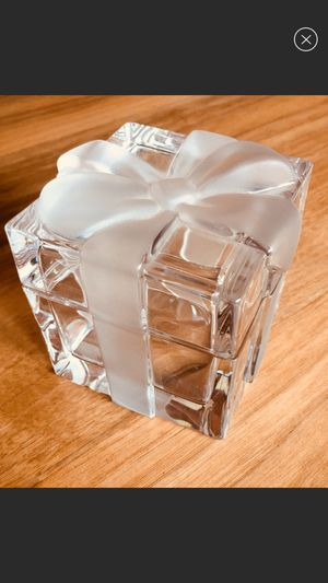 Tiffany jewelry crystal box for Sale in Rosemead, CA