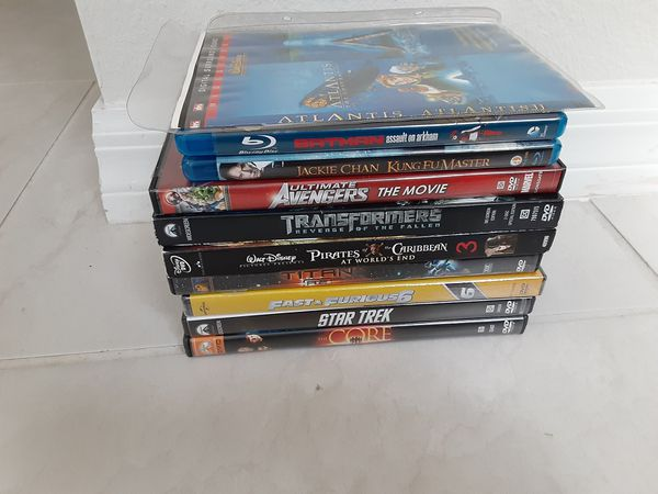 Blu-Ray and DVDs