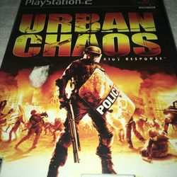2 Ps2 Games: Urban Chaos And Resident Evil 4 Premium for Sale in Columbus,  OH