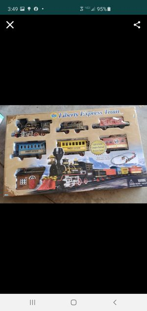 New train track set with sounds for Sale in Riverside, CA