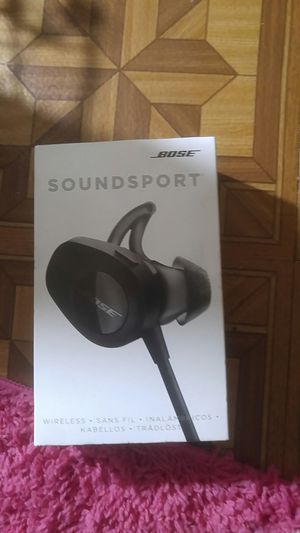 Bose (soundsport) wireless earbuds for Sale in Bensalem, PA
