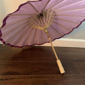Two Just Artifacts 12-Inch Paper Parasol for Sale in Gilroy, CA