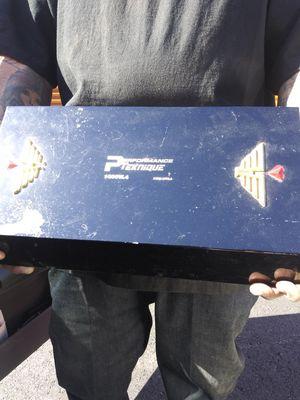 Performance teckhnique 4channel amp 1000watt amp for Sale in Modesto, CA