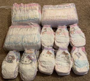 Hello Kitty Pampers Easy Ups size 4T & 5T for Sale in San Antonio, TX