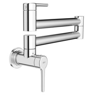 American Standard Studio S Wall Mount Pot Filler with Swing Arm in Polished Chrome for Sale in Dallas, TX