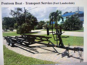 Pontoon Boat Trailer for Sale in Fort Lauderdale, FL