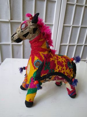 INDIA embroidered vintage horse for Sale in Chapel Hill, NC