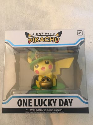 Funko Pop Vinyl Pokémon Pikachu One Lucky Day for Sale in Los Angeles, CA