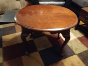Bassett solid cherry table with slide First 50.00 for Sale in Nashville, TN