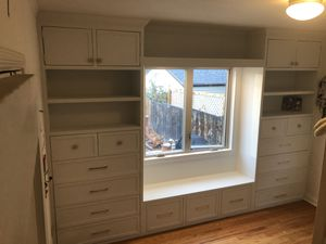 Dresser built ins with reading nook for Sale in Englewood, CO