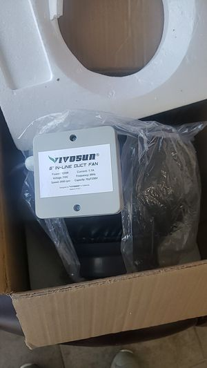 Vivosun 6 inch in-line duct fan for Sale in Claremont, CA
