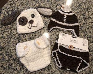 Newborn theme crochet outfits for Sale in Alexandria, VA