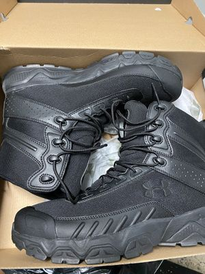 Under Armor. work boots. Law enforcement. Security. Loss prevention. Construction. All black . Comfortable for Sale in Philadelphia, PA