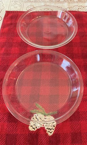 Pre-Owned Clear Pyrex Pie Plates for Sale in Douglasville, GA