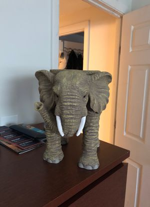 Decorative Elephant can be used as plant holder or a little chair for toddlers for Sale in Marlborough, MA