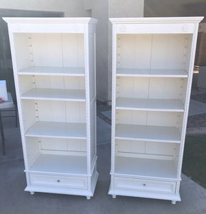 White Bookshelves for Sale in Gilbert, AZ