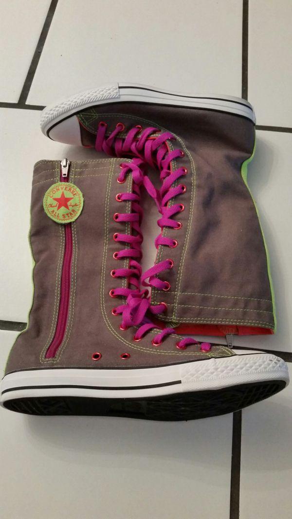 Bright Neon Converse Boots