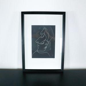 Framed Black and White Art Print (1037155) for Sale in San Bruno, CA