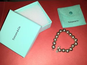 Authentic Tiffany & Company Bead Bracelet for Sale in Murfreesboro, TN